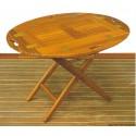 Tavoli e sedie ARC in Teak