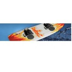 64 Sci nautici wakeboard gonfiabili e snorkeling