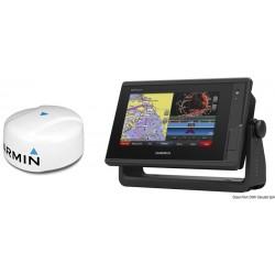 Charplotter Garmin GPSMap 722xs + Radar GMR18 HD+