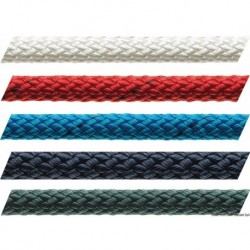 Cima Marlow braid 8 mm rossa